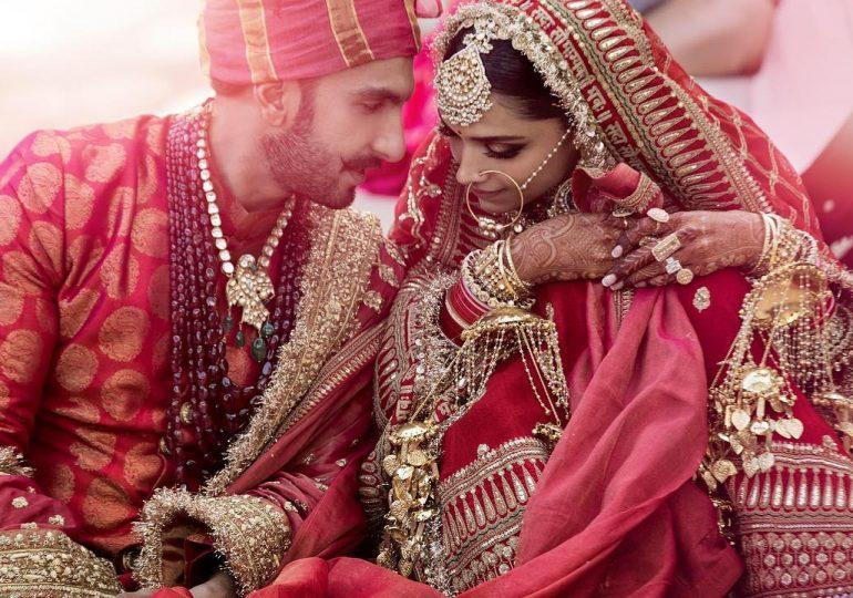 रणवीर-दीपिकाकडून लग्नाचे फोटो शेअर