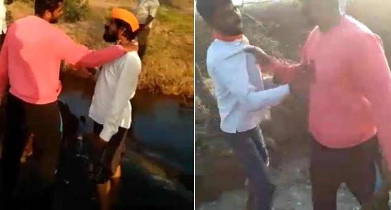 VIDEO : पुण्यातल्या PSI ची सोलापुरात तलवार घेऊन दादागिरी