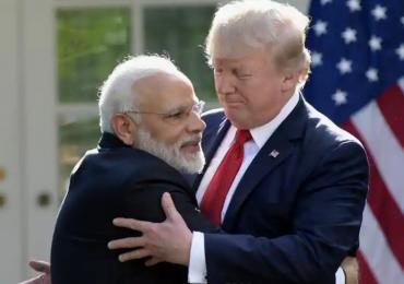 भारतीय भाग्यवान आहेत, कारण त्यांच्याकडे मोदी आहेत : डोनाल्ड ट्रम्प
