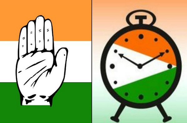 Congress, NCP, flag