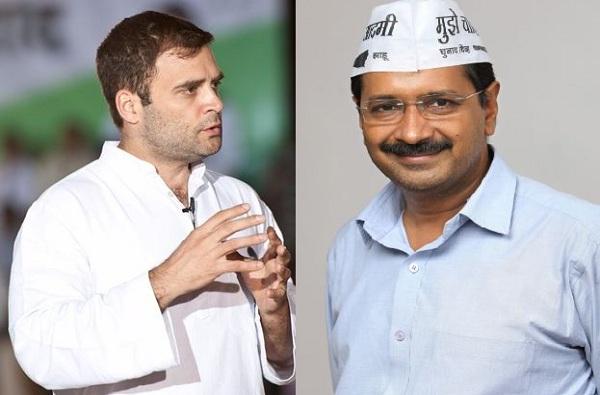 दिल्लीत भाजपविरोधात काँग्रेस-आप एकवटले