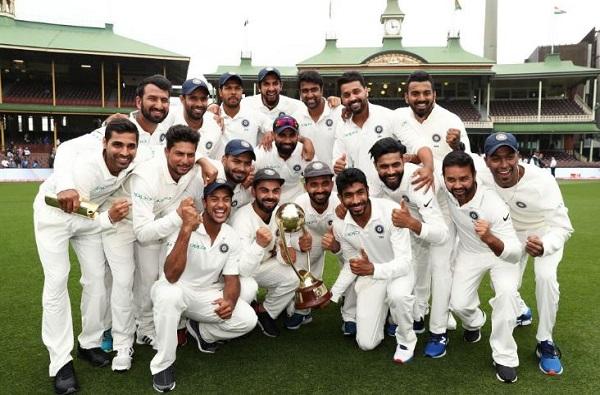 टीम इंडियाचा ऐतिहासिक विजय