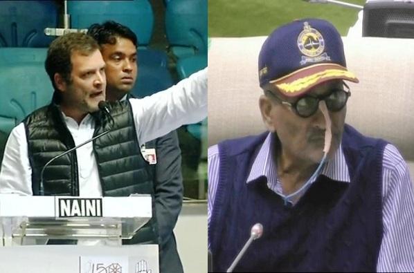 राहुल गांधी आधी म्हणाले भेट राजकीय नव्हती, आता जाहीर सभेत खळबळजनक दावे