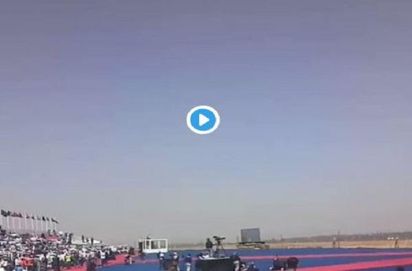 VIDEO : अखेर 'राफेल' भारतीय अवकाशात झेपावलं!