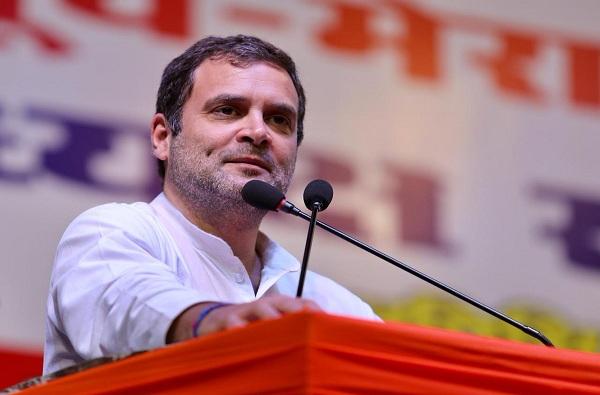सरकार आल्यास 22 लाख नोकऱ्या देणार, राहुल गांधींची मोठी घोषणा