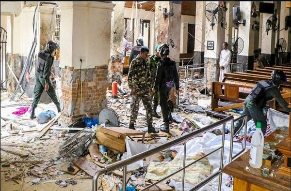स्फोटानंतर श्रीलंकन आर्मी अॅक्शनमध्ये, 15 संशयितांचा खात्मा