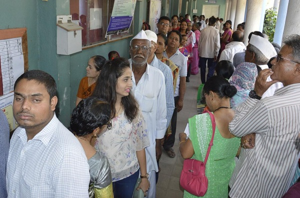 Maharashtra Voting   राज्यात विधानसभेसाठी 60.46 टक्के मतदान