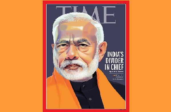 आधी Divider in Chief आता Modi Has United India, 'टाईम'ची कोलांटउडी!