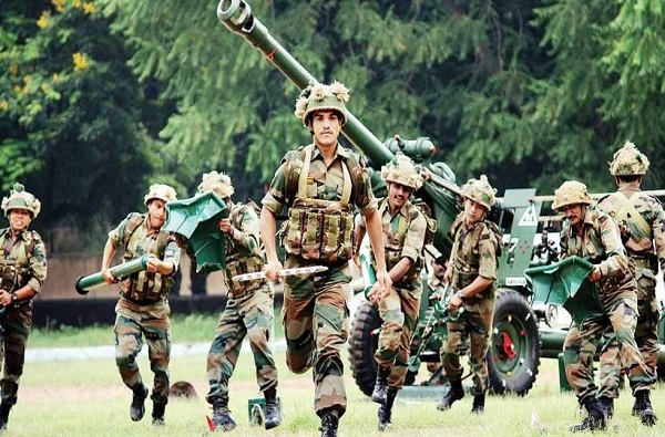 Indian aarmy fourth rank in world most powerful force