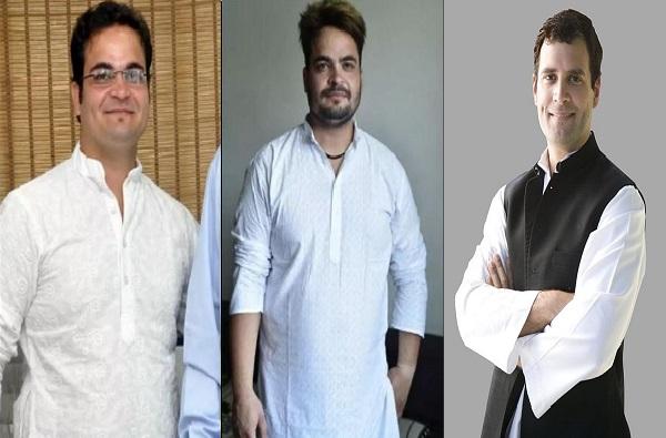 राहुल गांधींसारख्या दिसणाऱ्या व्यक्तीने लूक बदलला!