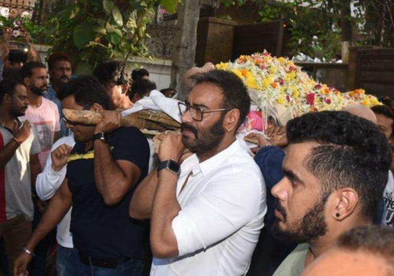 वीरु देवगण खुर्चीवरुन कोसळले, काजोलच्या फोननंतर अजय देवगणची रुग्णालयाकडे धाव