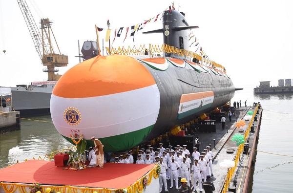 स्कॉर्पिअन श्रेणीतील 'वेला' पाणबुडी भारतीय नौदलात दाखल