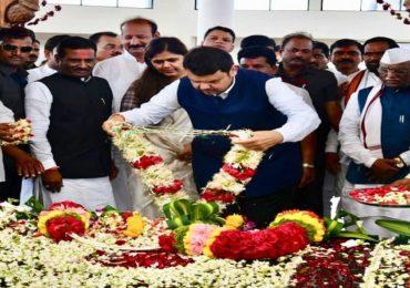 गोपीनाथ मुंडेंचं प्रत्येक स्वप्न पूर्ण करणार, मराठवाडा दुष्काळमुक्त करु : मुख्यमंत्री