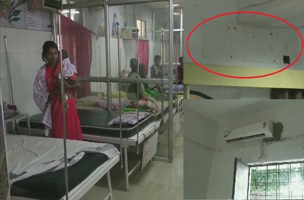 कुपोषित मुलं उकाड्याने हैराण, जिल्हाधिकाऱ्याने स्वत:चे एसी रुग्णालयात लावले