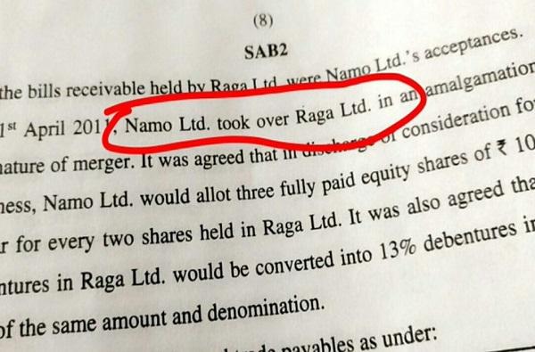 रागा कंपनी नमो कंपनीत विलीन, CA परीक्षेत अवघड बॅलन्सशीट