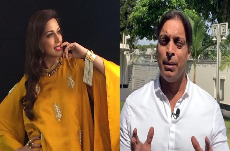 Shoaib Akhtar Sonali Bendre : सोनाली बेंद्रेसोबतच्या अफेयरच्या चर्चेवर शोएब अख्तरने मौन सोडलं