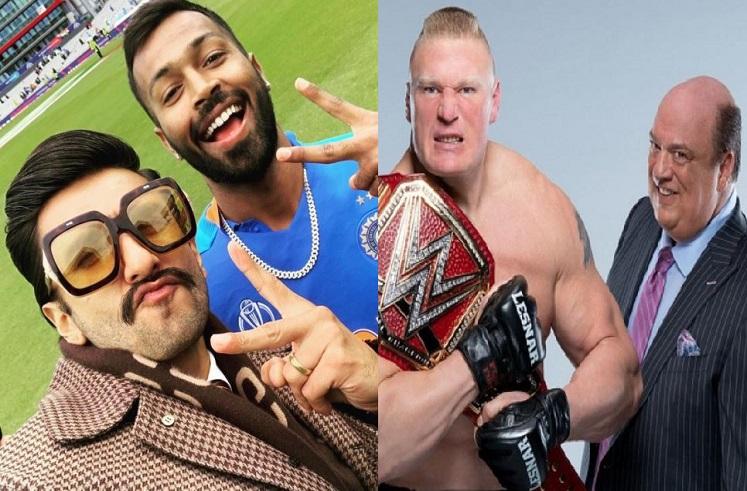 हार्दिक पंड्यासोबतचा फोटो वादात, WWE सुपरस्टार रणवीरवर कायदेशीर कारवाई करणार?