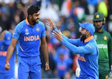 Vijay Shankar : इंग्लंडविरुद्धच्या सामन्यातून बाहेर पडलेला विजय शंकर विश्वचषकातूनही बाहेर