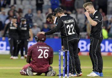 न्यूझीलंडने सामना जिंकला आणि वेस्ट इंडिजने मनं