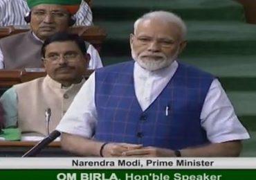 ज्यांचं कोणी नाही, त्यांच्यासाठी सरकार आहे : पंतप्रधान मोदी