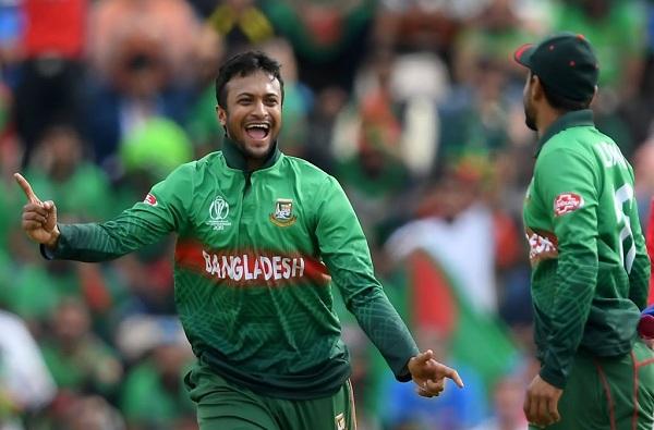 ICC ची जगातील सर्वोत्तम अष्टपैलू खेळाडूवर बंदी, शाकीब अल हसन आऊट