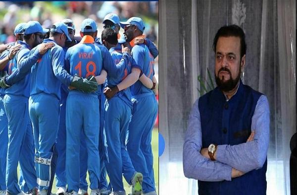 टीम इंडियाच्या प्रस्तावित भगव्या जर्सीला अबू आझमींचा विरोध