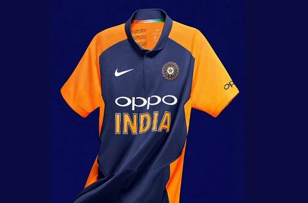 टीम इंडिया भगव्या रंगात खेळणार, बीसीसीआयकडून नव्या जर्सीचा फोटो शेअर