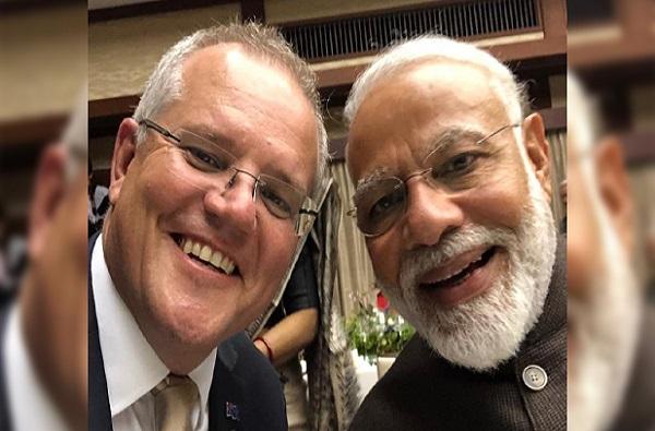 'मोदी किती चांगले आहेत', ऑस्ट्रेलियाच्या पंतप्रधानांचे सेल्फी शेअर करत गौरवोद्गार