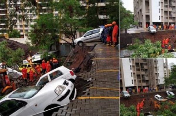 Pune Wall Collapse : 8 बिल्डरांवर सदोष मनुष्यवधाचा गुन्हा दाखल