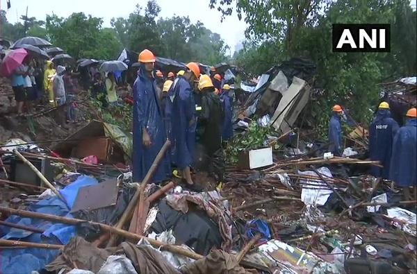 मालाडमध्ये भिंत कोसळून 21 जणांचा मृत्यू