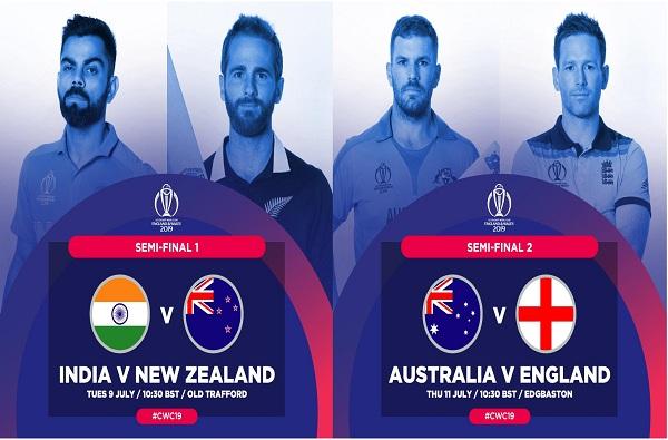 थरारक सामन्यात द. आफ्रिकेकडून आस्ट्रेलियाचा पराभव, भारत वि. न्यूझीलंड सेमीफायनल रंगणार