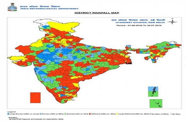 लाल ठिपक्यांनी धाकधूक वाढवली, महाराष्ट्राच नव्हे तर अर्धा देश दुष्काळाच्या छायेत