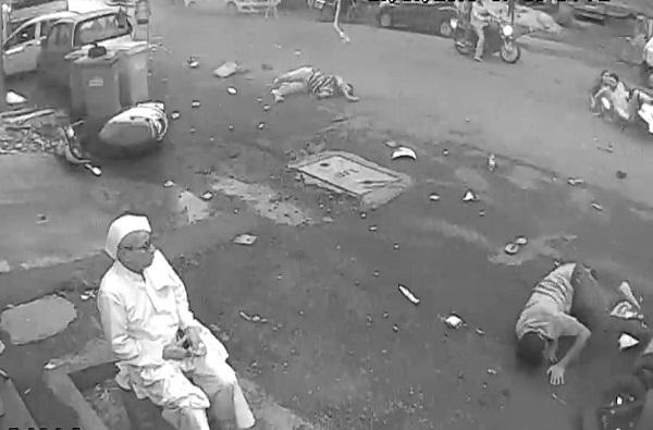नवी मुंबईत भरधाव स्कोडाने सात जणांना उडवलं, सात वर्षीय चिमुकल्यासह दोघांचा मृत्यू