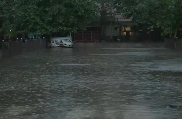राज्यभरात जोरदार पाऊस, नांदेडमध्ये पूरसदृश्य परिस्थिती