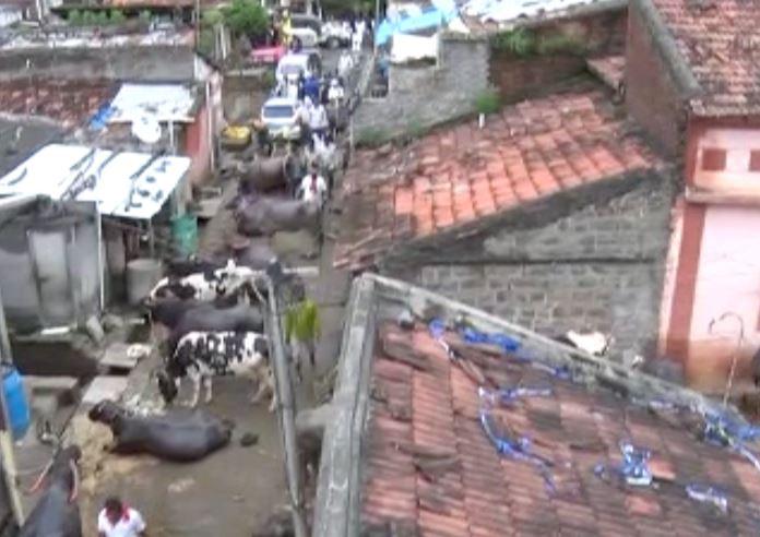Brahmanal ground report     ब्रह्मनाळ गावात टीव्ही 9 मराठी, चहूबाजूंनी घेरलेल्या गावात पिण्याचं पाणीच नाही