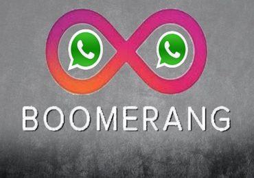 आता व्हॉट्सअॅपवरही 'Boomerang'करा