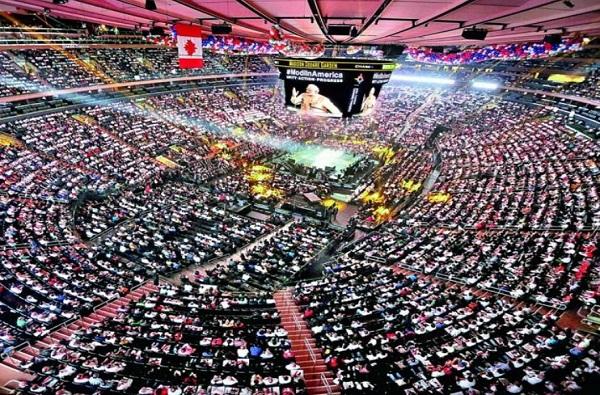 मोदींचा अमेरिका दौरा : भाषण ऐकण्यासाठी 40000 जागा आत्ताच बूक