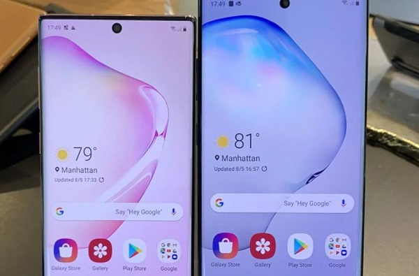 Samsung Galaxy Note 10 आणि Galaxy Note 10+ भारतात लाँच, किंमत किती