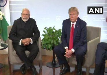 काश्मीर प्रश्नी जे योग्य असेल ते मोदीच करतील : डोनाल्ड ट्रम्प