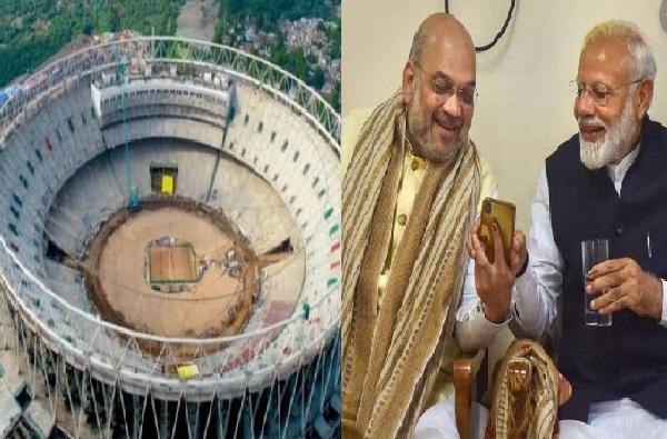 मोदींचं स्वप्न शाहांकडून पूर्ण, गुजरातमध्ये जगातील सर्वात भव्य स्टेडियम
