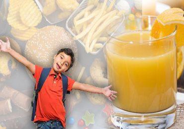फळांचा रस लहान मुलांसाठी घातक : तज्ज्ञ