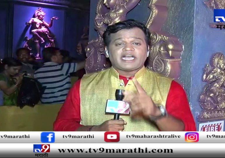 Ganeshotsav 2019 : मुंबईमध्ये गणेश गल्लीत राम मंदिराचा देखावा