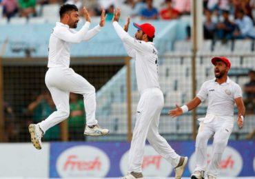 राशीद खानच्या 11 विकेट, कसोटीत अफगाणिस्तानचा 224 धावांनी विजय