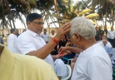 काँग्रेसला मोठा धक्का, माजी मंत्री कृपाशंकर सिंग यांचा पक्षाला रामराम
