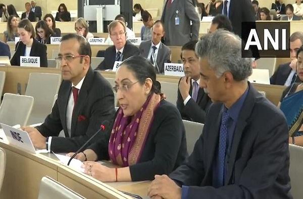 UNHRC : पाकिस्तानची खोटेपणाची कॉमेंट्री, काश्मीरप्रश्नी भारताचे खडेबोल