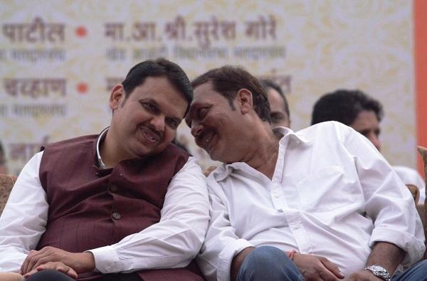 Udayanraje Bhosale and CM meeting