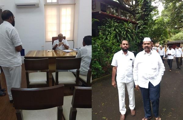 Narendra Patil Meet Sharad Pawar