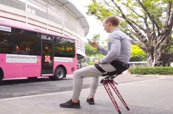 wearable chair