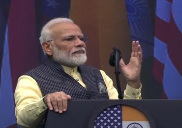 HOWDY MODI : दहशतवादाविरोधात लढाईची वेळ, ट्रम्पही भारतासोबत : नरेंद्र मोदी