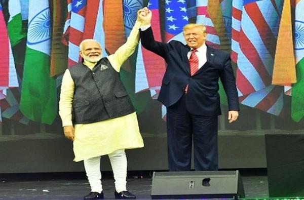 Narendra Modi in Howdy Modi